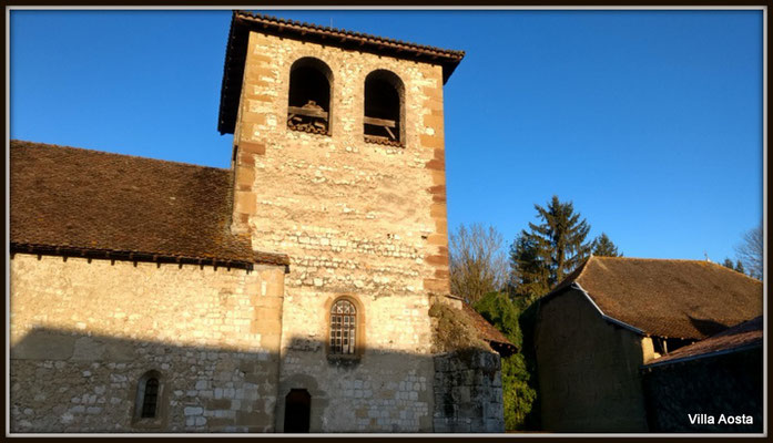 St Didier d'Aoste - church