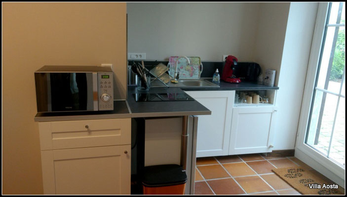 kitchenette studio Villa Aota