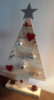 Sapin de Noël en bois de palette