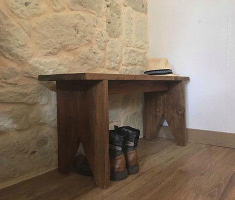 Petit banc en bois de récup'