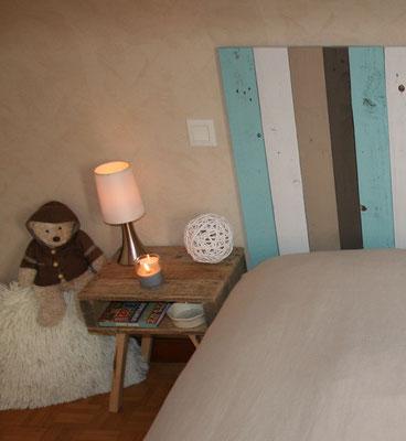 Chevet style scandinave en bois de palette