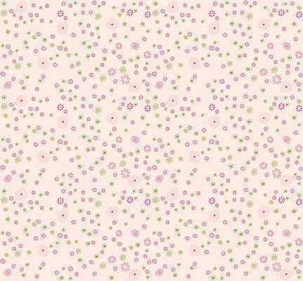 Geschenkpapier - Blumenmotiv