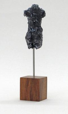 Miniatur-Torso aus Pappmache mit Bronzepatina - Größe ca: 16,5 cm - ohne Titel