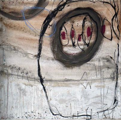 ohne Titel - Acryl auf Leinwand - 30 x 30 cm - 2015 -verkauft-