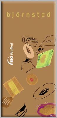 Verpackungsgestaltung Schokolade Björnsted - Praliné