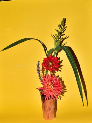 kleines Blumengesteck