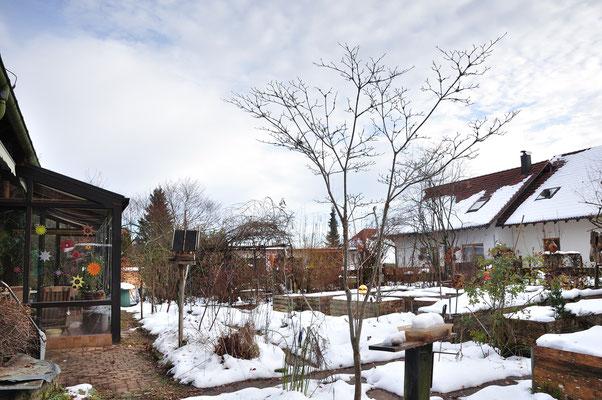 KW51-14.12.2020, 3°C Alpenblick, es wird warm und der Schnee taut wieder