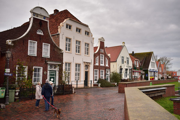 Holländerhäuser in Greetsiel