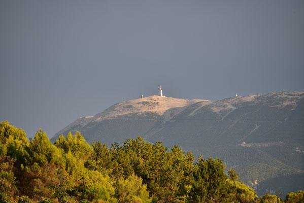 Mount Ventoux im Abendlicht