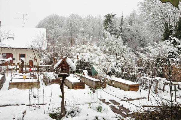 nochmal Schnee am 4.April!