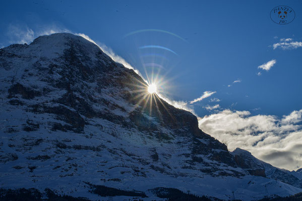 Sunrise am Eiger