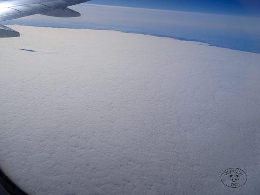 Arktis.....Nebelmeer über Kroatien