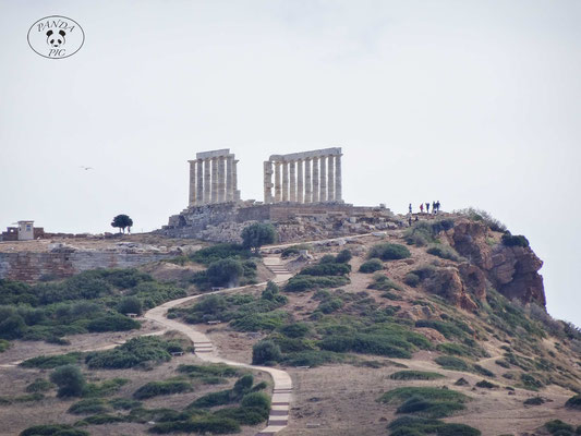 Tempel des Poseidon Cap Sounio