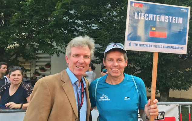 Philip Schädler und Christian Harzenmoser nehmen an der Parade of Nations teil