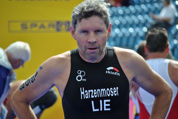 Christian Harzenmoser im Ziel