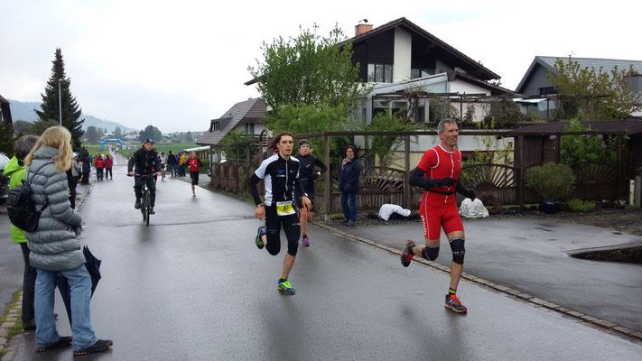 Michele Paonne läuft zum Titelgewinn