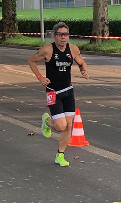 Christian Harzenmoser auf der 5Km Laufstrecke