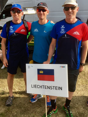 Team Liechtenstein an der Eröffnungsfeier
