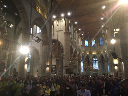 Eröffnung der WM in der Lorenzkirche
