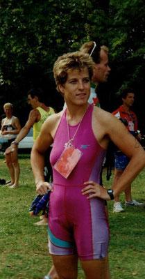 Maria Wille Triathlon EM Linz 26.8.1990