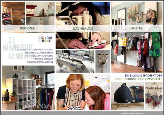 Produktionsschule Eimsbüttel - Charitymarket.de handgearbeitet, fair und nachhaltig