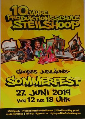 Sommerfest Produktionsschule Steilshoop