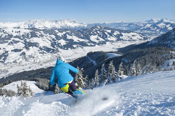 Abfahrt Nr. 11 der SkiWelt Wilder Kaiser Brixental - KandlerAlmAbfahrt