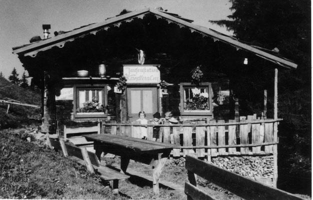 Jausenstation KandlerAlm 1962 - heutiges FerienHaus