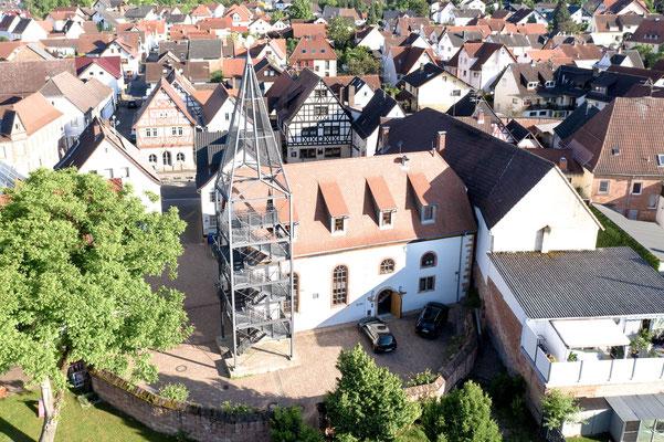 Schuler Schickling Rössel | Alte Schule Wenigumstadt | Aussenansicht