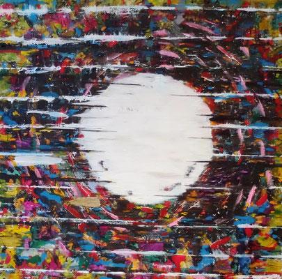 Last Painting 2020   Acryl und Tusche auf Leinwand in 100x100...