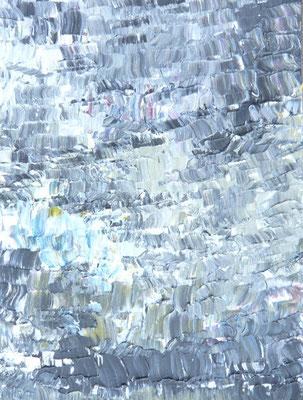 """""""Unruhige Zeiten"""", Acryl auf LW in 50x70 2013"""