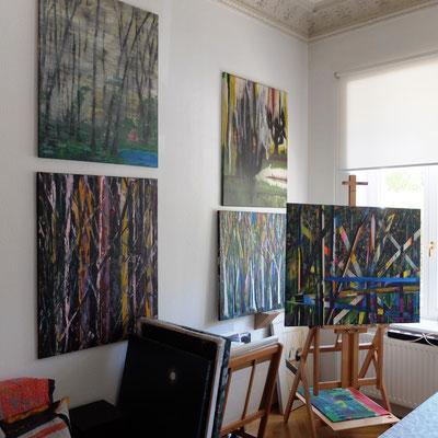 Neue Werke im ehemaligen Atelier