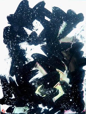 """""""Explosion"""", Acryl auf LW in 70x90 2013"""