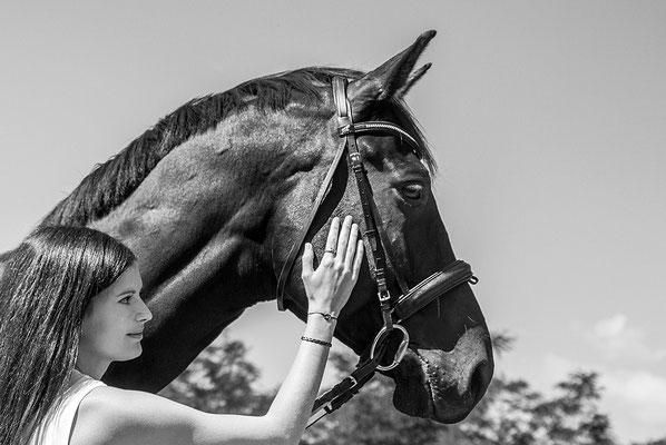 aus Liebe zum Pferd