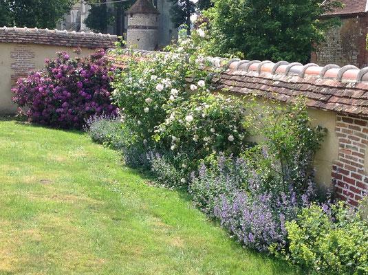 Jardin. Les Chambres de l'Abbaye