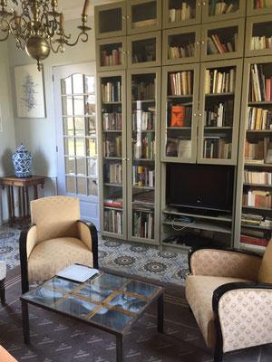 Les Chambres de l'Abbaye. Bibliothèque