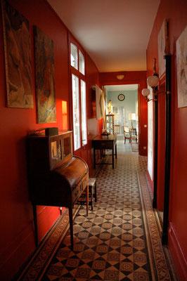 Hall d'entrée. Les Chambres de l'Abbaye
