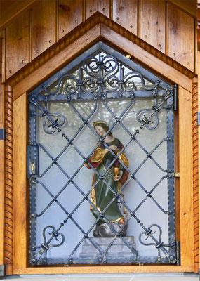 Heilige Babara Schutzpatonin der Bergleute