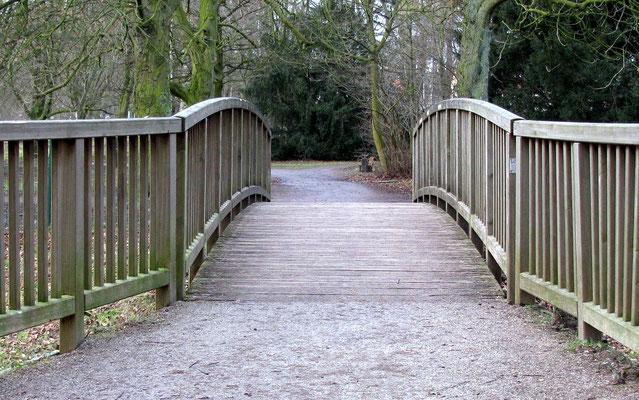Hornebrücke im Stadtpark
