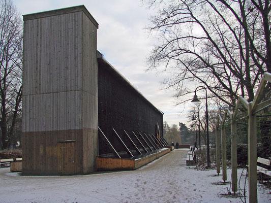 Saline - Gradierwerk  im Winter