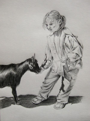 o.T., Bleistift auf Papier, Dina 4, 2011