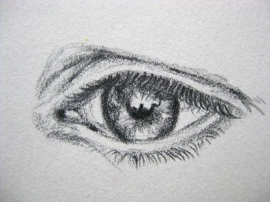 Ausschnitt aus Studie, Bleistift auf Papier, Dina 4, 2011