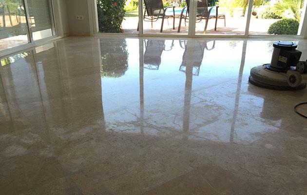 Cristalizado de suelo