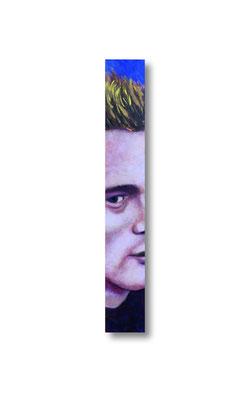 """James Dean:   3.5 x 24 x 1""""  acrylic on wood"""