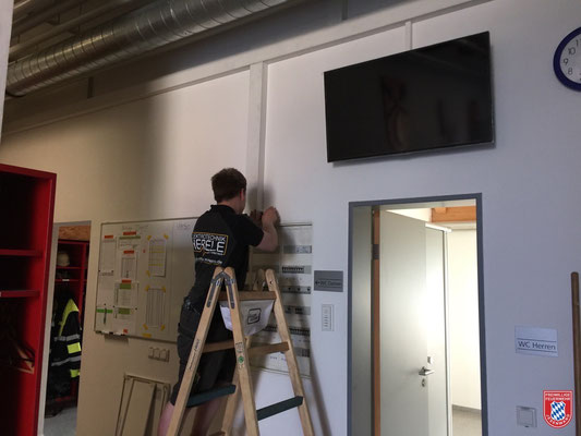 Maxi Herele von Elektrotechnik-Herele installierte die Strom- und Netzwerkverkabelung.