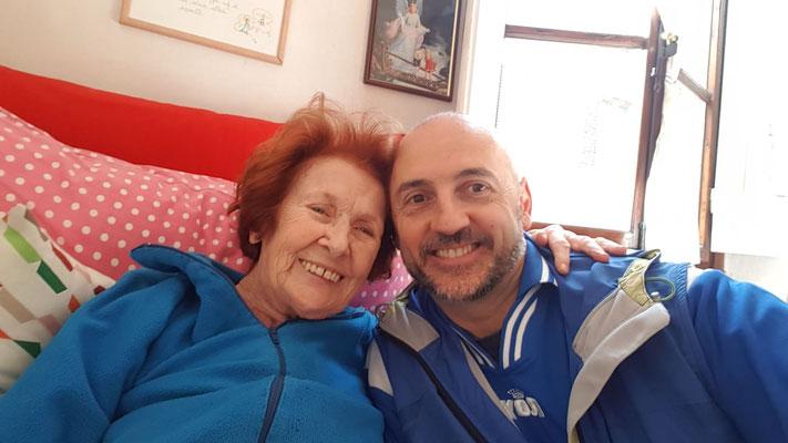 con p. Sandro Pantoli assistente della Comunità