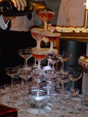 MARIAGE DANET TRAITEUR - Fontaine de champagne rosé
