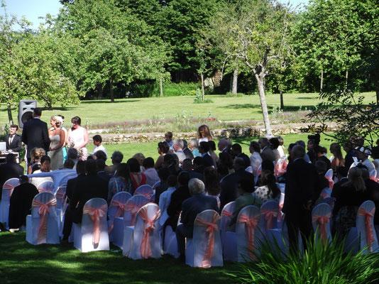 MARIAGE DANET TRAITEUR - Cérémonie mariage en extérieur
