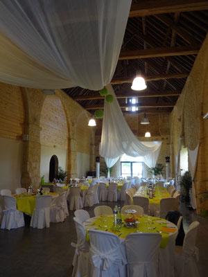 MARIAGE DANET TRAITEUR - Décor de tables - Présentation de salle
