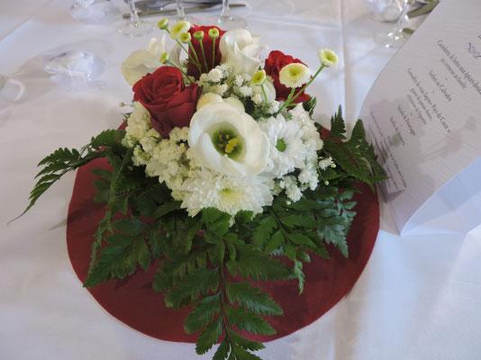 DANET TRAITEUR MARIAGE Décor floral